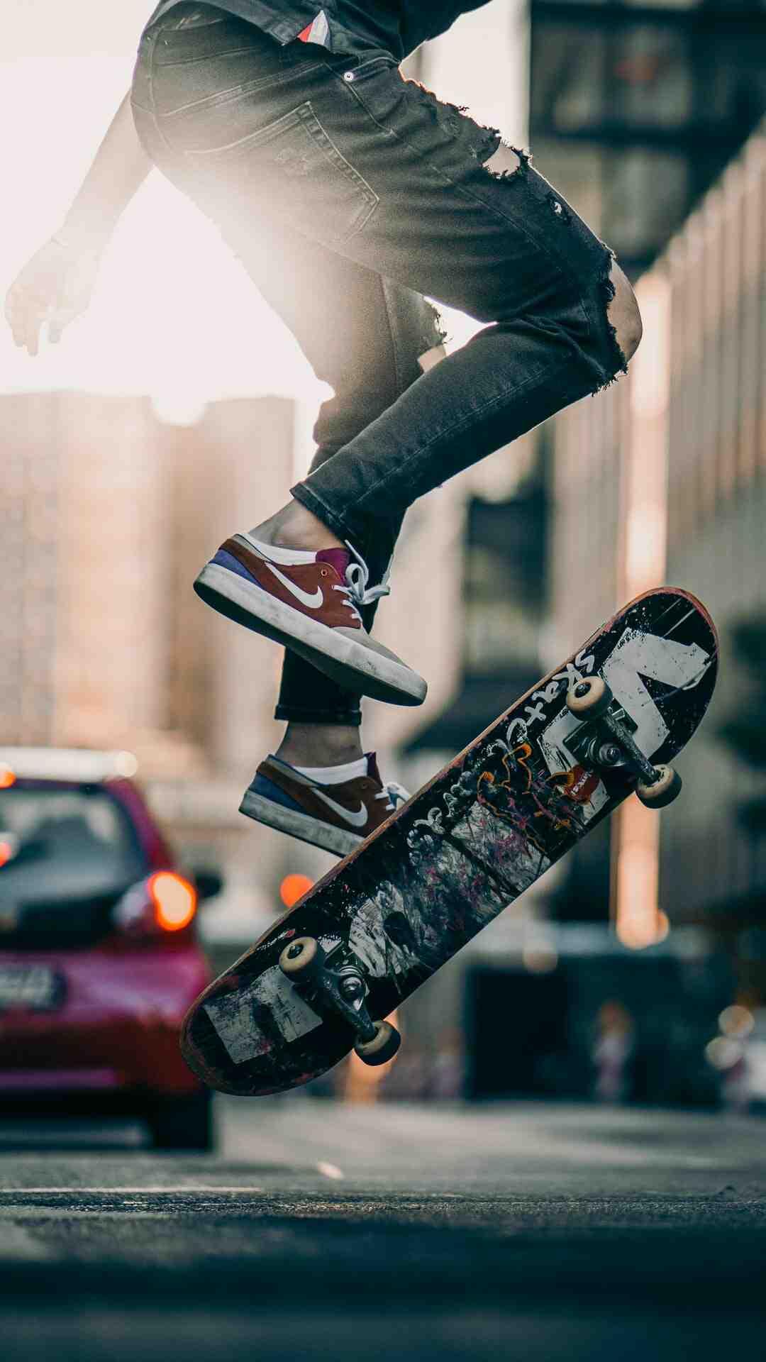 Comment sauter en skateboard